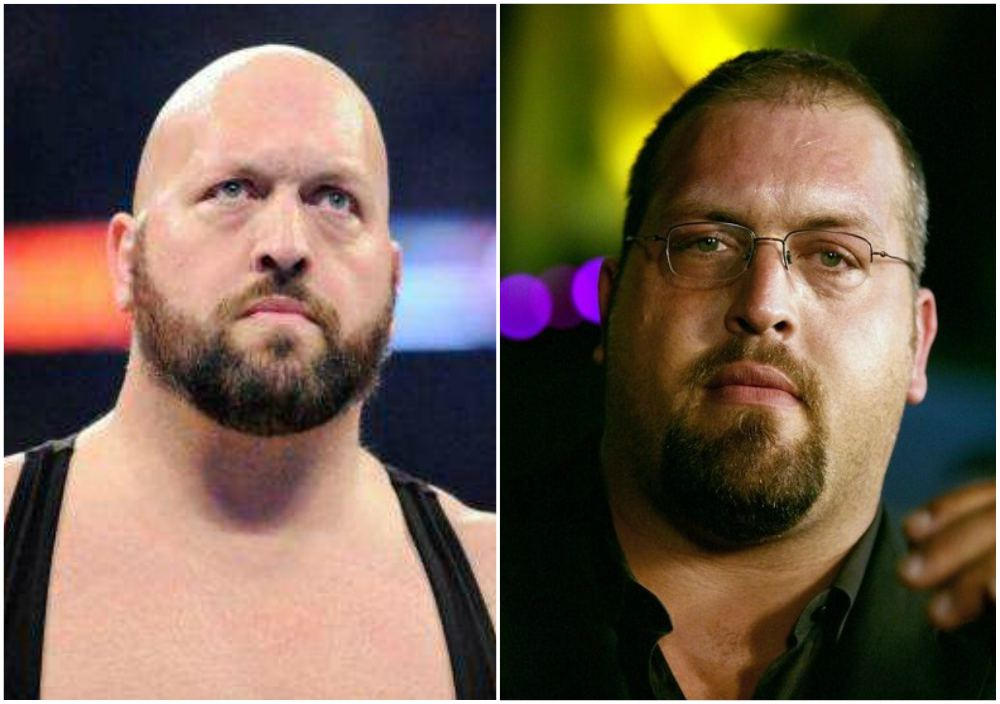 Wrestler Big Show`s eyes and hair color