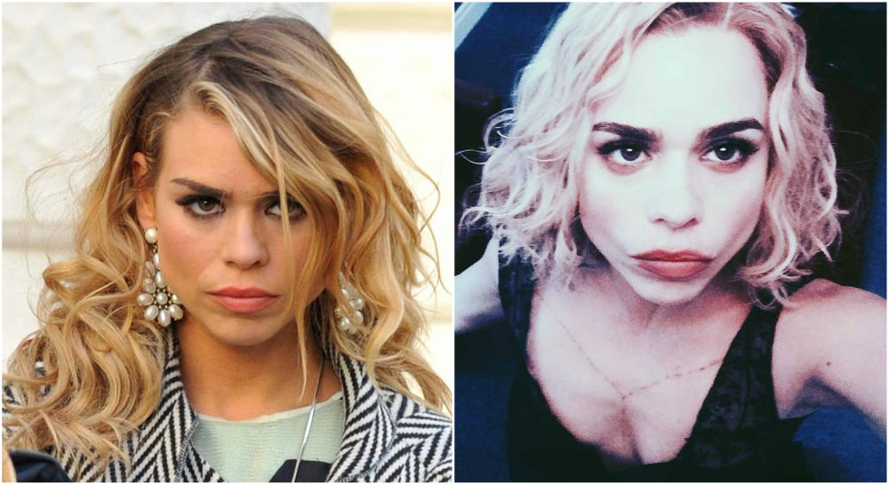 Billie Piper`s eyes and hair color