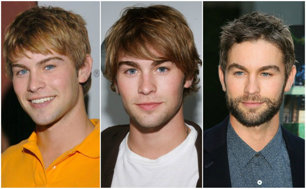 Chace Crawford`s eyes and hair color