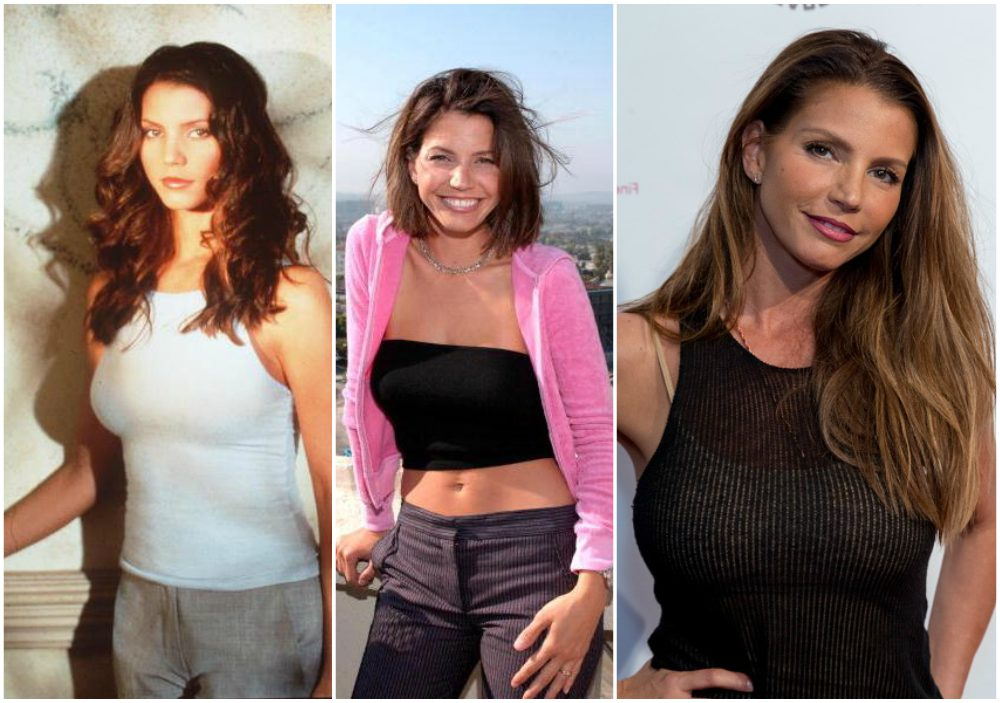 Charisma Carpenter`s eyes and hair color