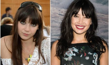Daisy Lowe`s eyes and hair color