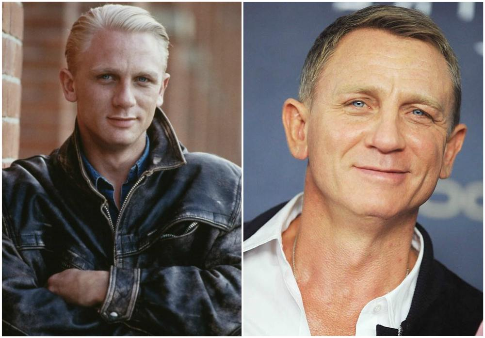 Daniel Craig`s eyes and hair color