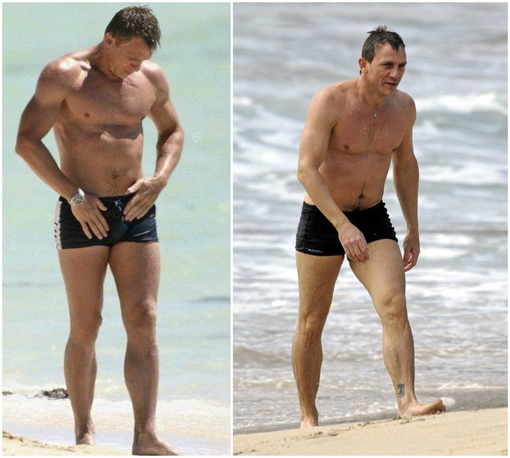 daniel craig casino royale body