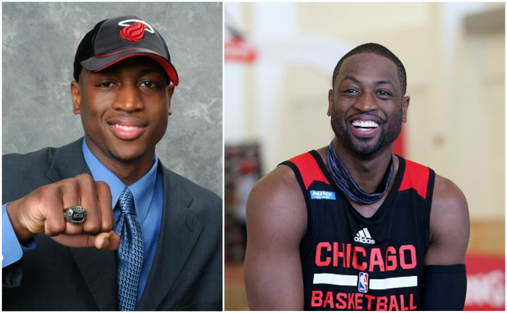 D-Wade`s eyes and hair color