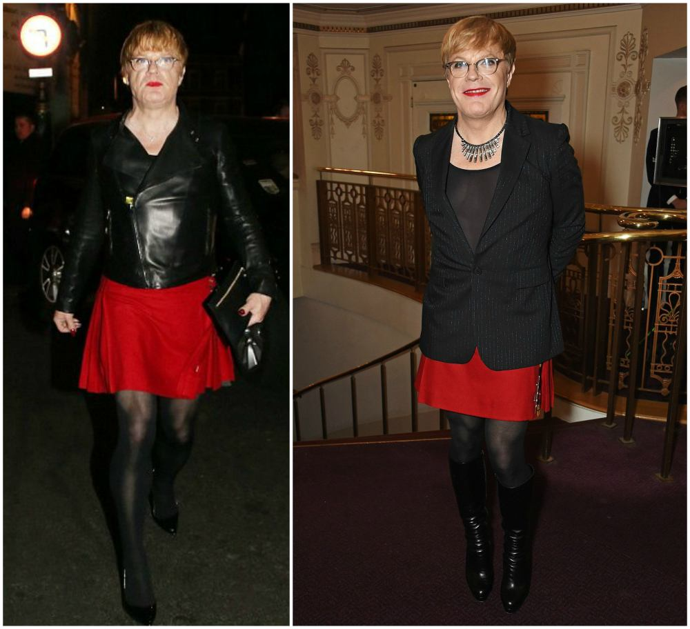 Eddie Izzard`s height, weight and age