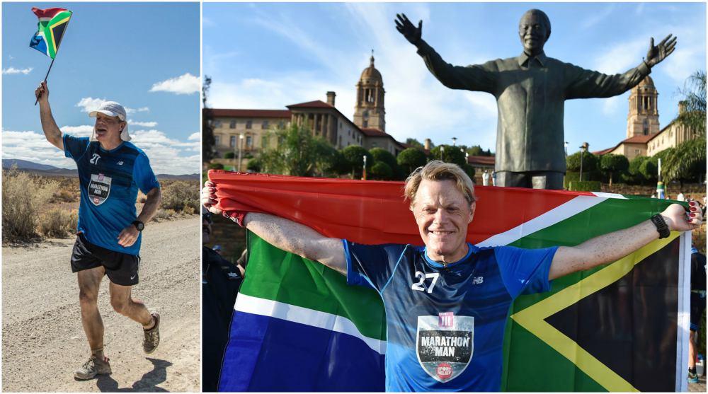 Eddie Izzard 27-day marathon