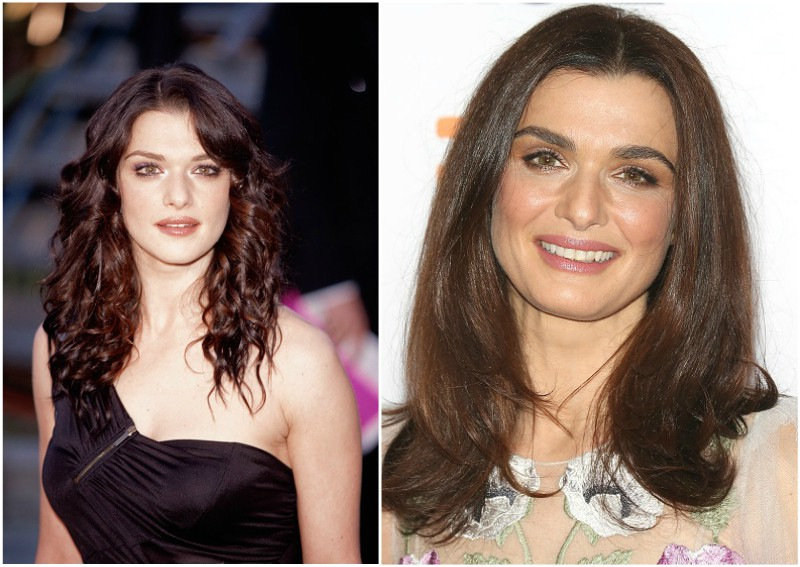 Rachel Weisz`s eyes and hair color