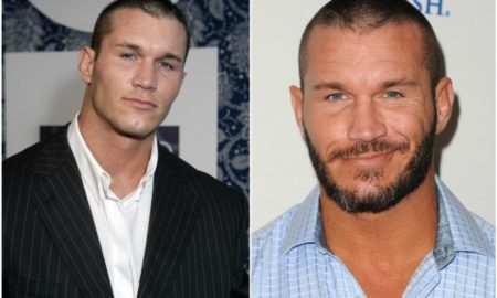 Randy Orton's eyes and hair color