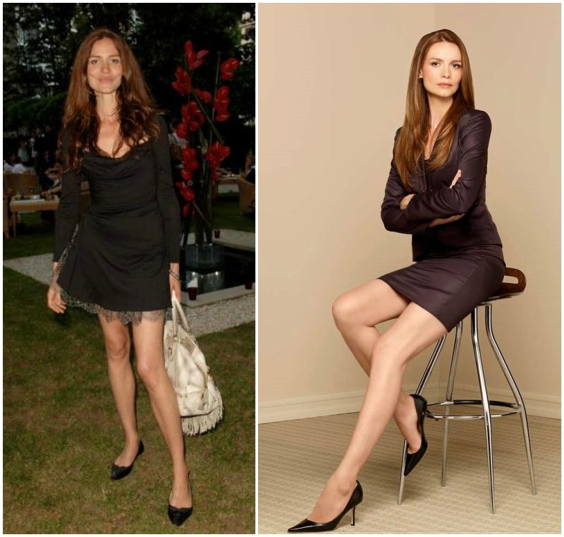 Saffron Burrows` height, weight and age