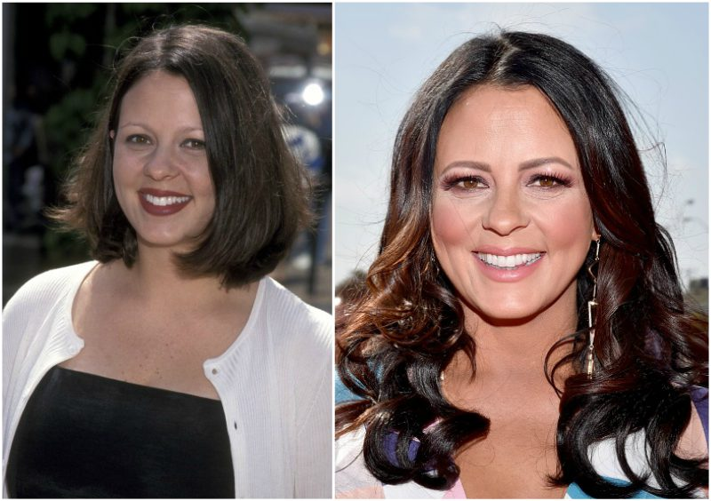 Sara Evans` eyes and hair color