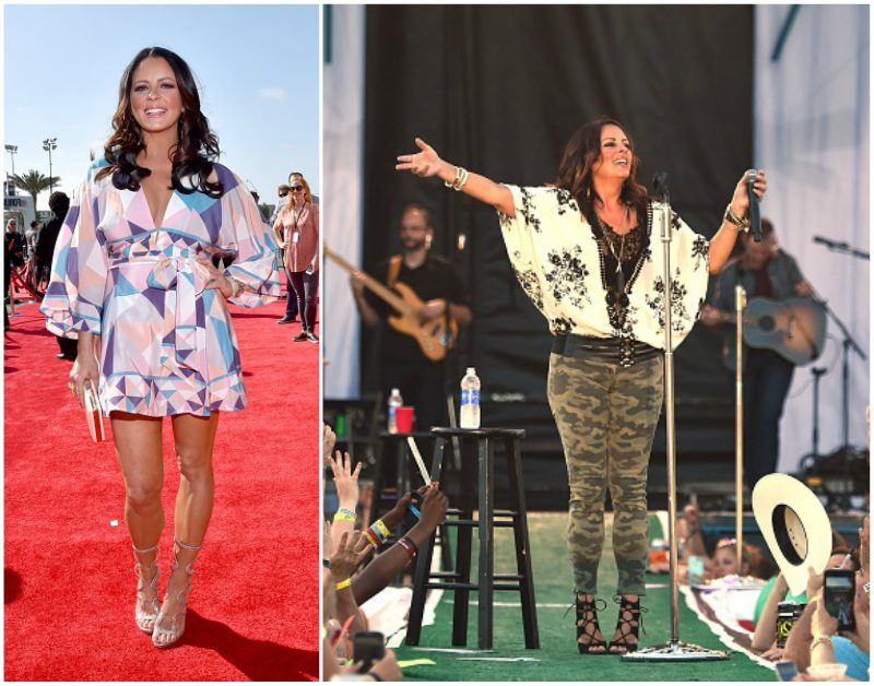 Sara Evans` height, weight and age