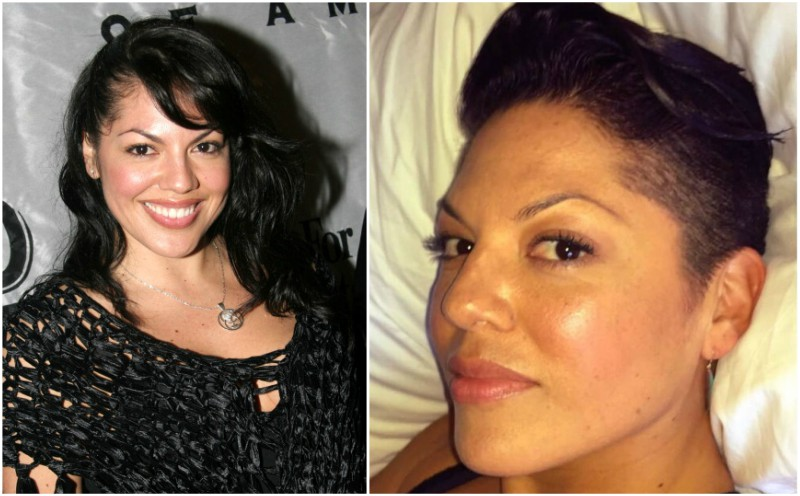 Sara Ramirez`s eyes and hair color