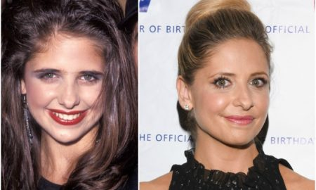 Sarah Michelle Gellar`s eyes and hair color