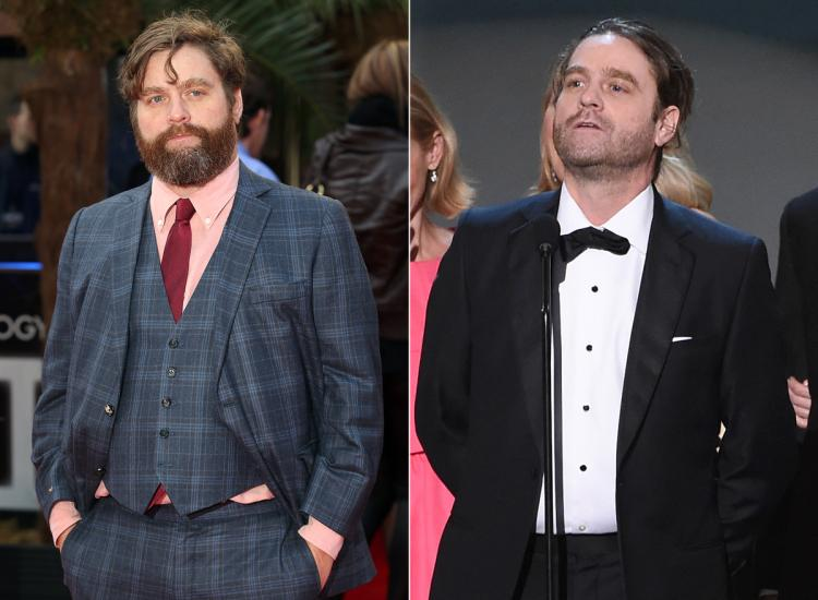 Zach Galifianakis` weight loss tips