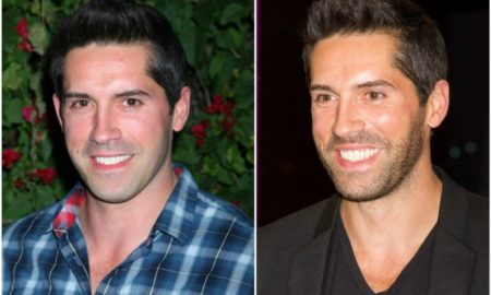 Actor Scott Adkins` eyes and hair color