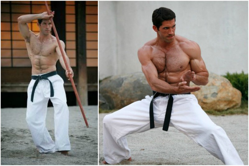 Actor Scott Adkins` height, weight and age
