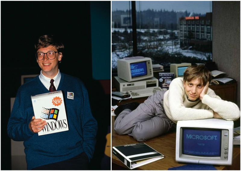 Bill Gates` early years in Microsoft
