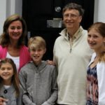 Bill Gates' family: one of the richest