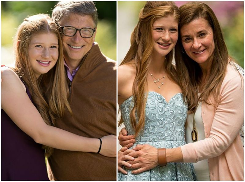 Bill Gates` children - daughter Jennifer Katharine Gates