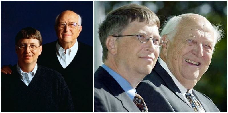 Bill Gates` family - father Bill Gates, Sr