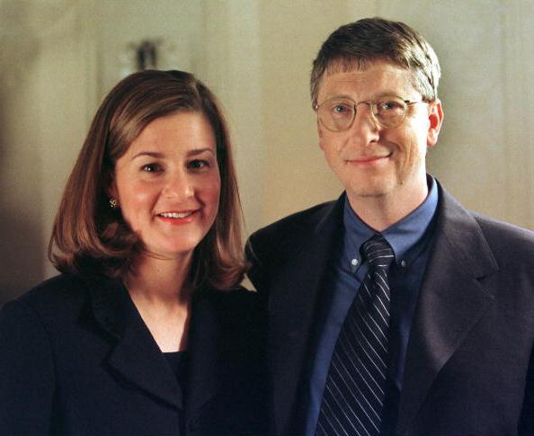 Bill Gates` family - spouse Melinda