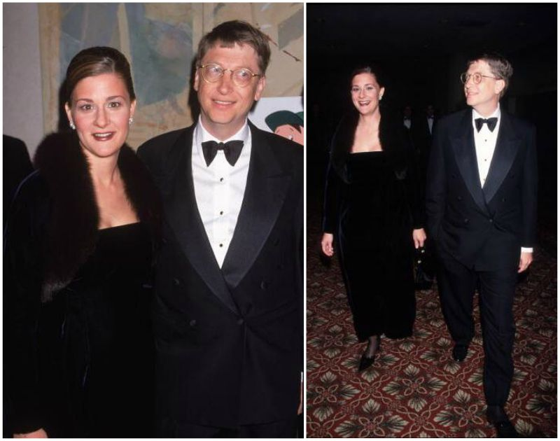 Bill Gates` family - wife Melinda Gates