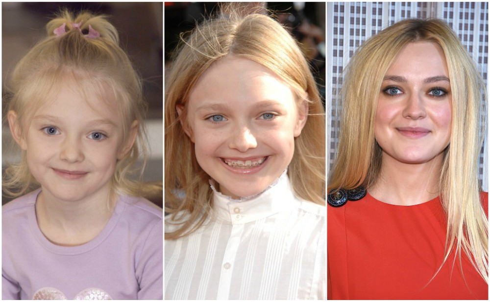 Dakota Fanning`s eyes and hair color