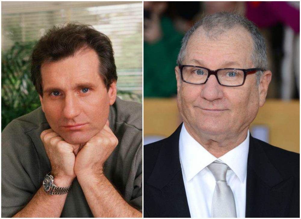 Ed-O`Neill`s eyes and hair color