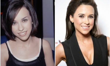Lacey Chabert`s eyes, hair color