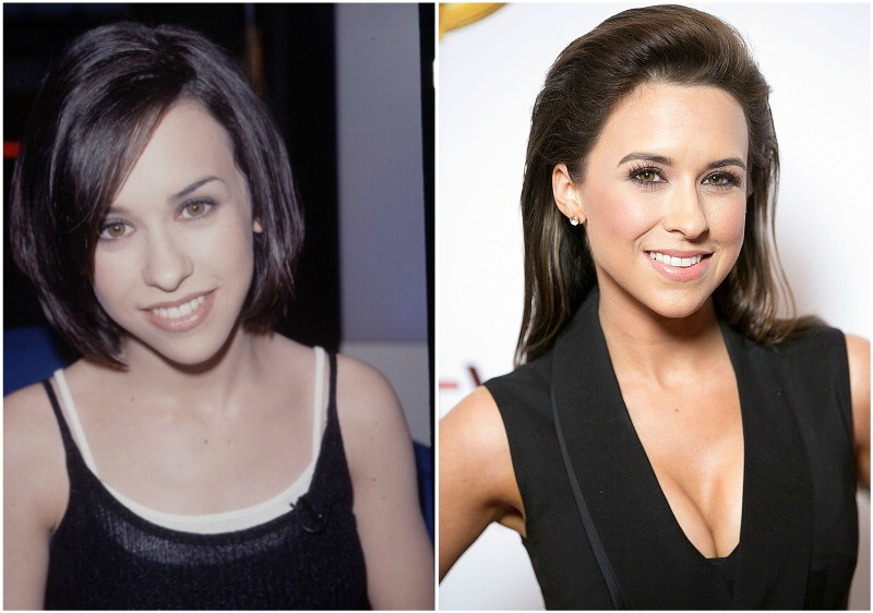 Lacey Chabert`s eyes and hair color