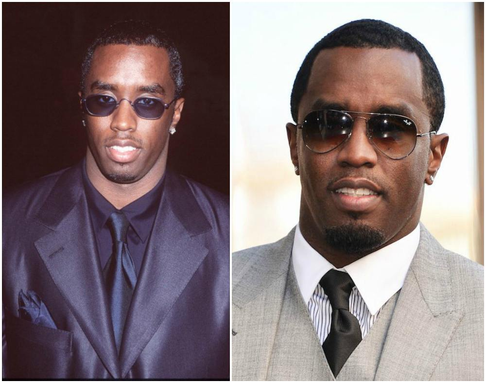P. Diddy (Sean Combs) eyes and hair color