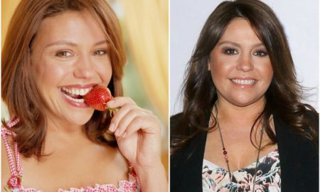Rachael Ray`s eyes and hair color