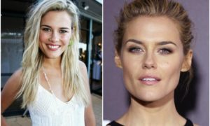 Rachael Taylor`s eyes and hair color