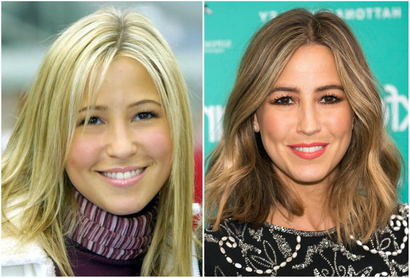 Rachel Stevens` eyes and hair color