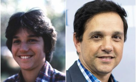 Ralph Macchio`s eyes and hair color
