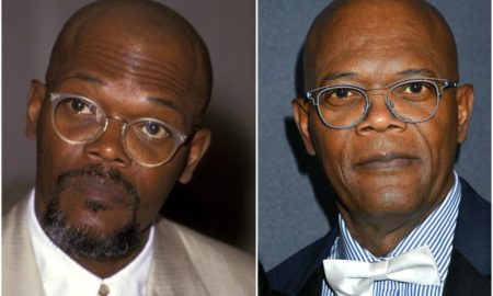 Samuel L. Jackson`s eyes and hair color