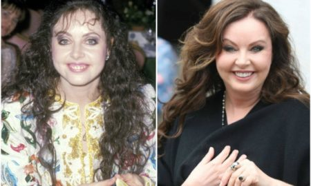Sarah Brightman`s eyes and hair color