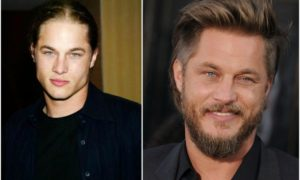 Travis Fimmel`s eyes and hair color