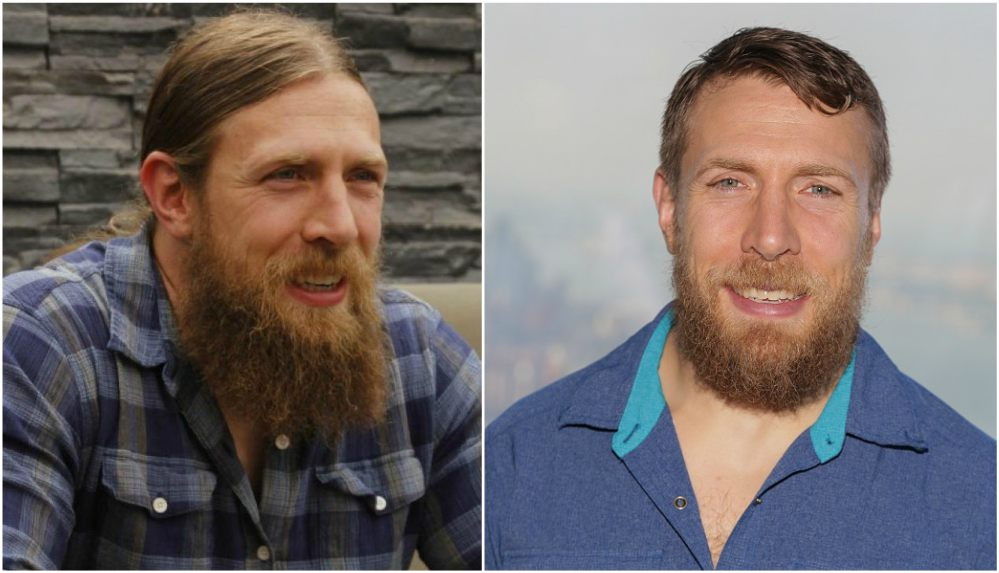Wrestler Daniel Bryan`s eyes and hair color