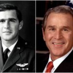 A former American president George Bush doesn't give up body shaping even after 70
