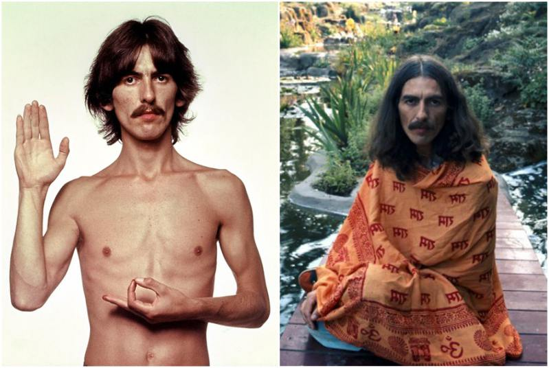 George Harrison`s height, weight and age