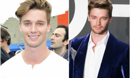 Patrick Schwarzenegger`s eyes and hair color