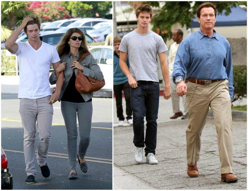 Patrick Schwarzenegger`s height, weight. He follows dad's way
