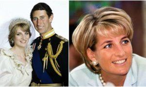Princess Diana`s eyes and hair color