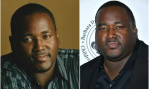 Quinton Aaron`s eyes and hair color