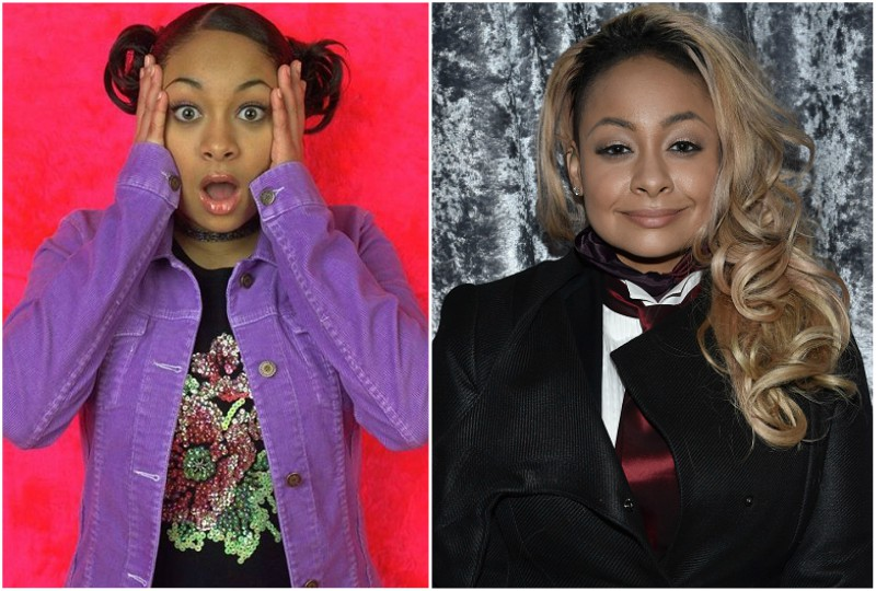 Raven-Symone Pearman`s eyes and hair color