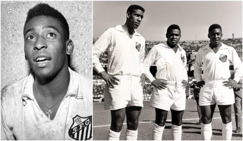 Pele`s height, weight