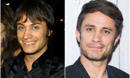 Gael Garcia Bernal`s eyes and hair color