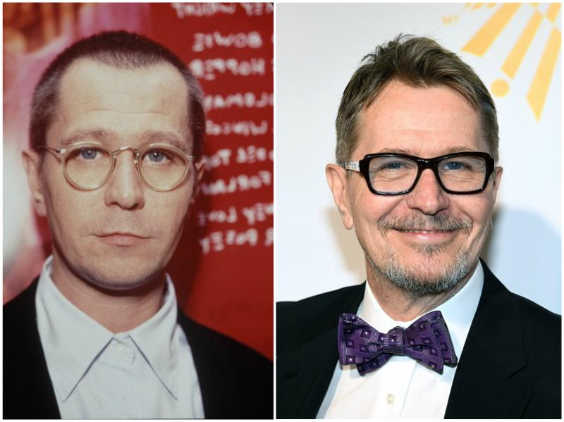 Gary Oldman`s eyes and hair color