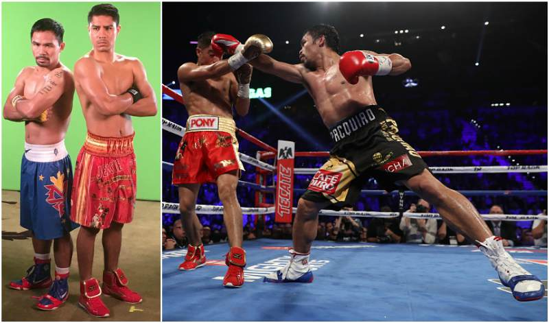 Manny Pacquiao`s height, weight and age